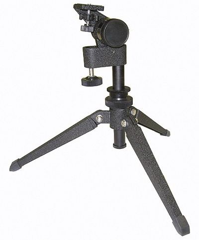 Deluxe Micro-Adjustable Tabletop Tripod