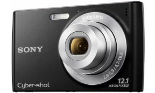 SONY Cybershot DSC-W510B 4x Zoom Compact Camera - BLACK