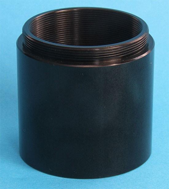 365Astronomy T2 40mm Extension Tube - 40mm T2 Extender - BLACK