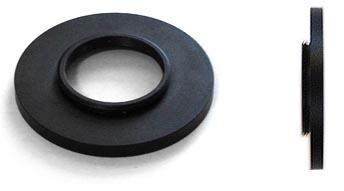 TS Optics Ultra Low Profile T2 to C-mount Adapter - T2 Female with C-Mount Male - Only 4mm Optical Length