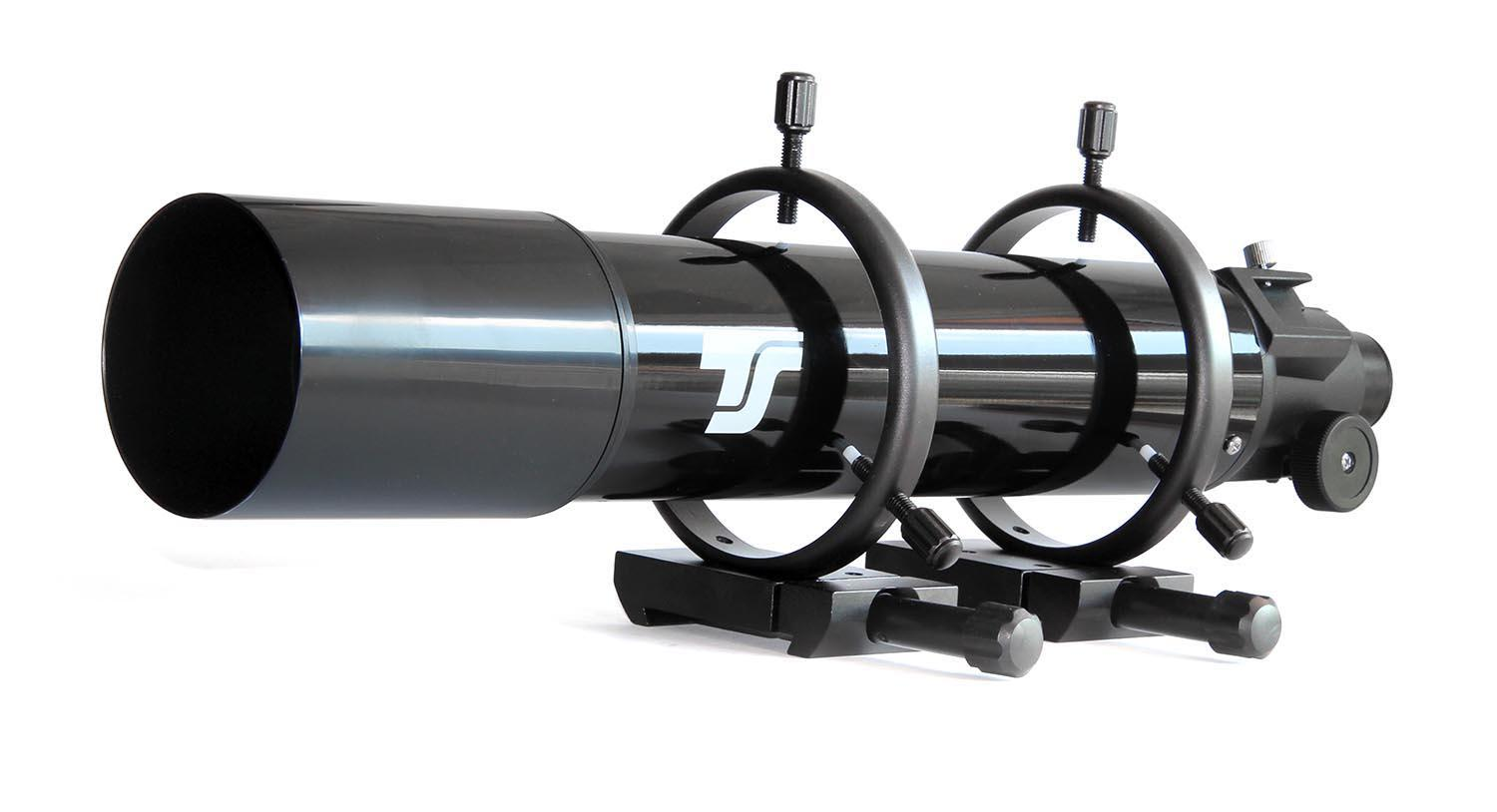 TS 80mm Guide Scope with 600mm Focal Length with Guide Scope Rings