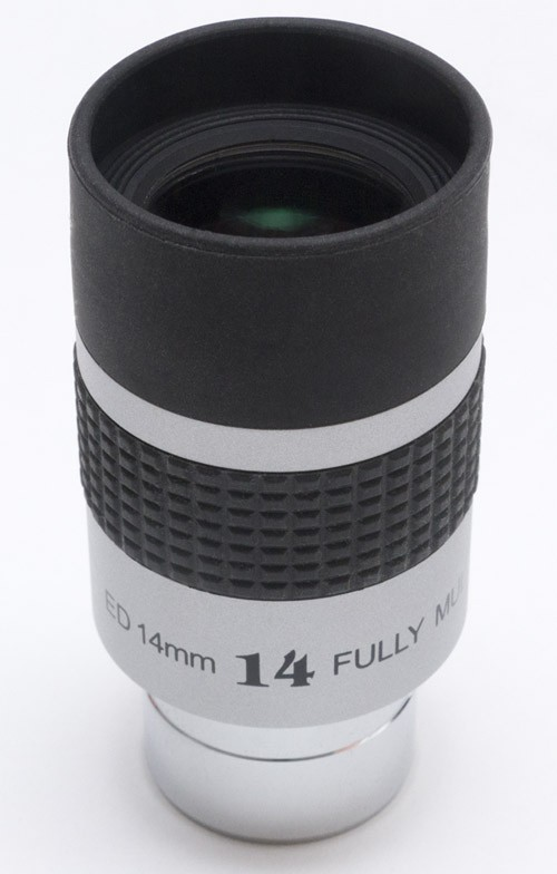 "TS Paragon ED 14mm 1.25"" Eyepiece - 50 deg - 20mm eye relief"