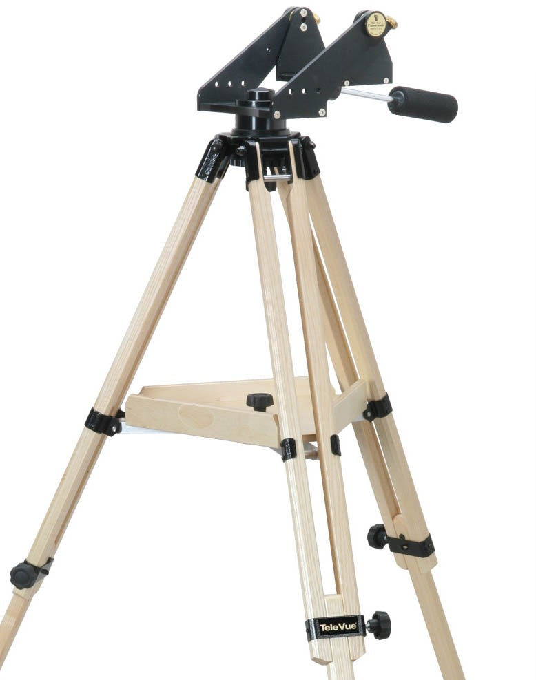TeleVue Panoramic Advanced Alt-Azimuth Mount with Ash Wood Tripod