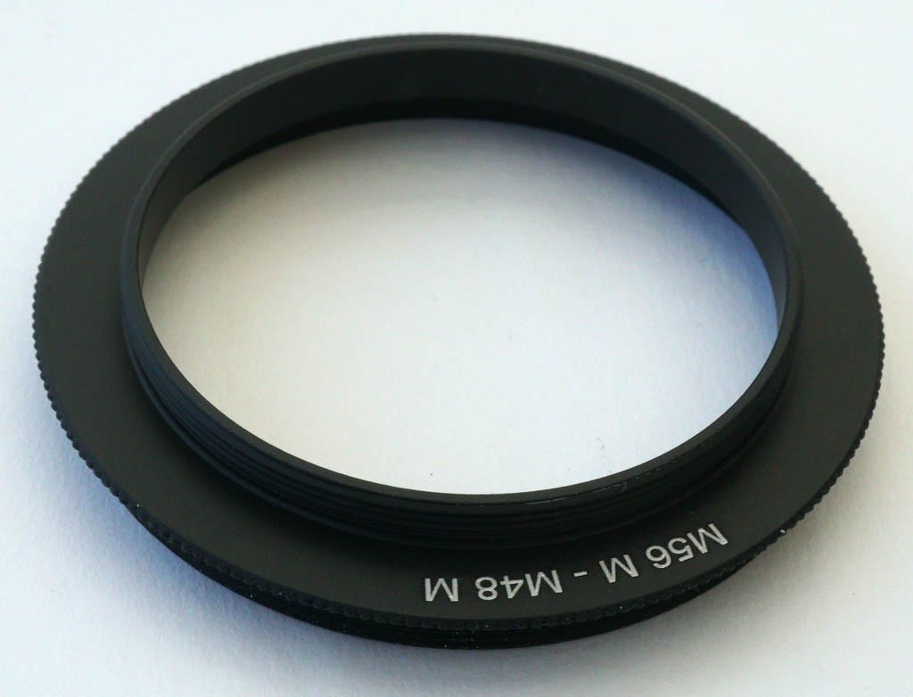 M56 - M48 Adapter Ring with Male M56 and Male M48 Threads