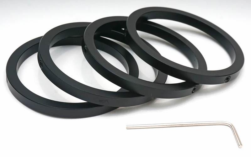 "365Astronomy 2"" Parfocal Eyepiece Rings / Parfocalizing Rings - Set of Four"