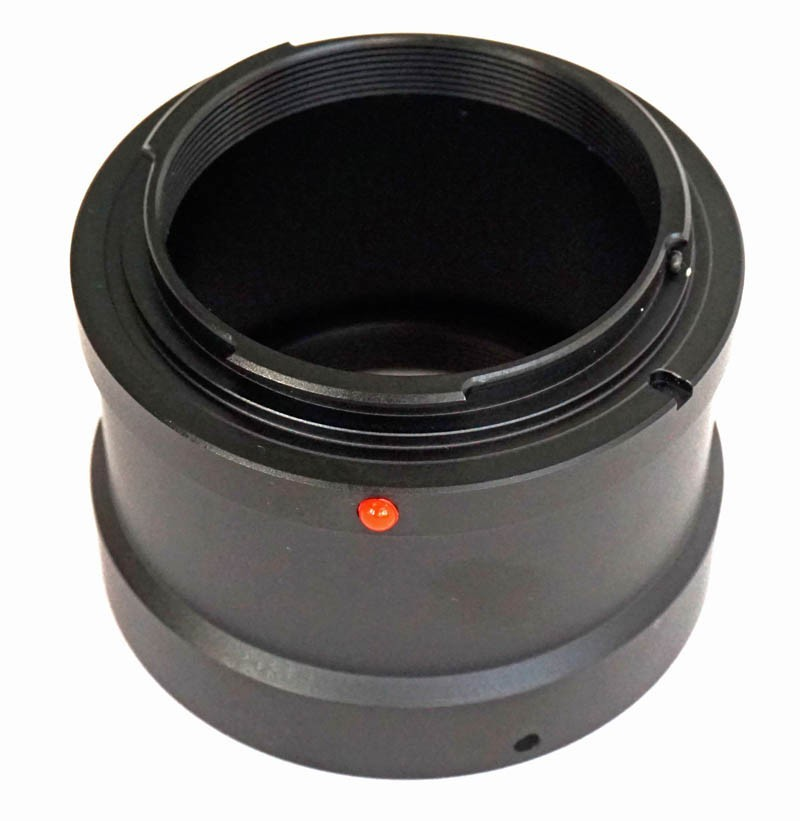 365Astronomy T-Ring Canon EOS M - T2 Lens Adapter Ring for Canon EOS M Cameras