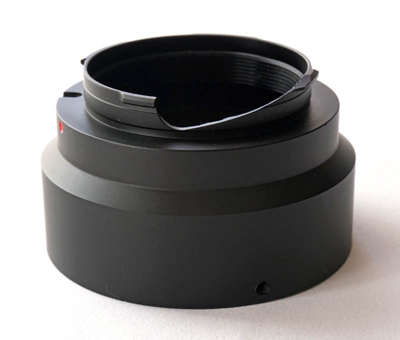 365Astronomy T-Ring Leica M - T2 Lens Adapter Ring for Leica M Cameras