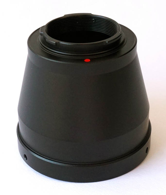 365Astronomy T-Ring Pentax Q - T2 Lens Adapter Ring for Pentax Q Cameras