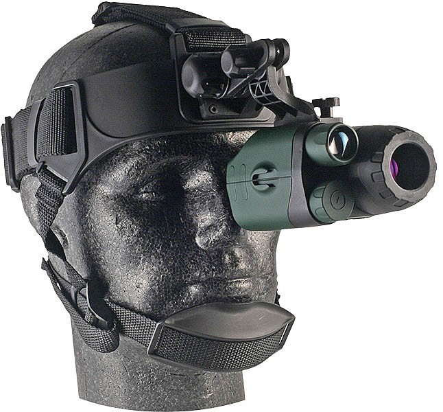 Yukon Advanced Optics NVMT Spartan 1x24 Gen1 Night Vision Monocular GOGGLE KIT