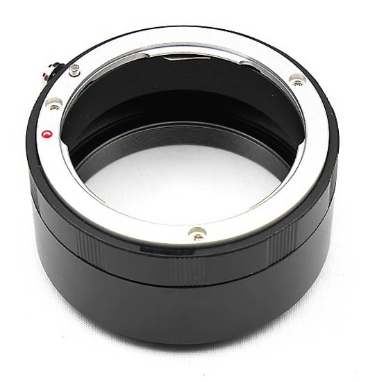 Canon EOS Lens to ZWO Full Frame Camera Adapter for Cameras with 17.5mm Back Focus