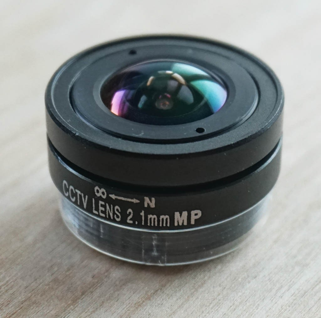 ZWO Replacement 2.1mm 150-degree Wide Angle Lens for ZWO ASI120 Cameras