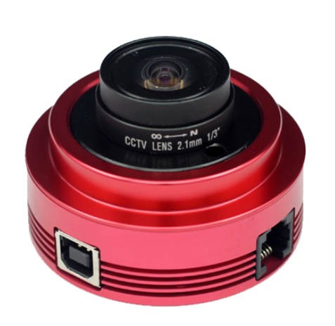 "ZWO ASI120MM Monochrome 1/3"" CMOS USB2.0 Camera with Autoguider Port"