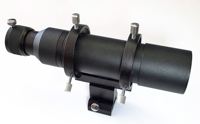 """APM 50mm Finderscope / Guidescope Kit - Straight Version with 1.25"""" Helical Focuser"""