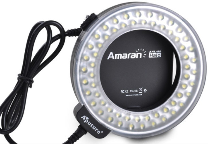 Aputure Amaran Halo LED Ring Flash for CANON dSLR Cameras