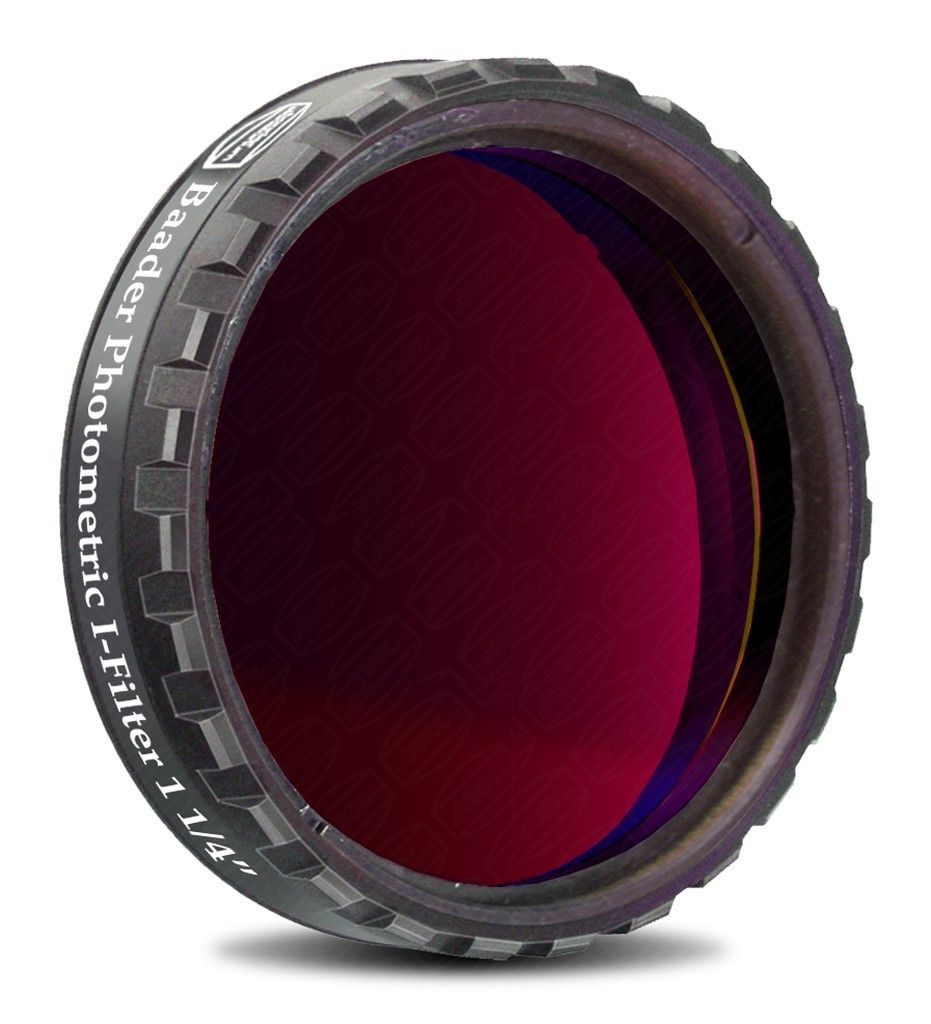 "Baader UBVRI Photometric I-Filter 1.25"" (4mm Glass)  with LPFC"