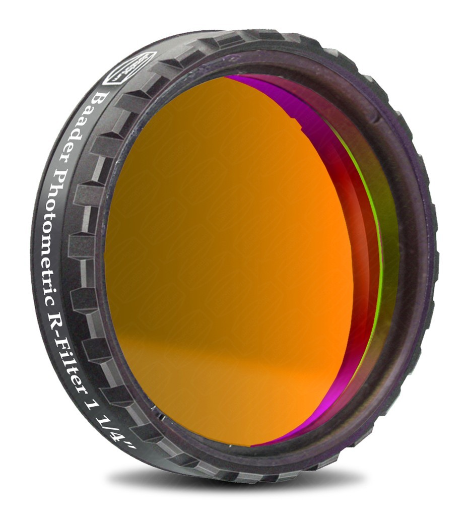 "Baader UBVRI Photometric R-Filter 1.25"" (4mm Glass)  with LPFC"