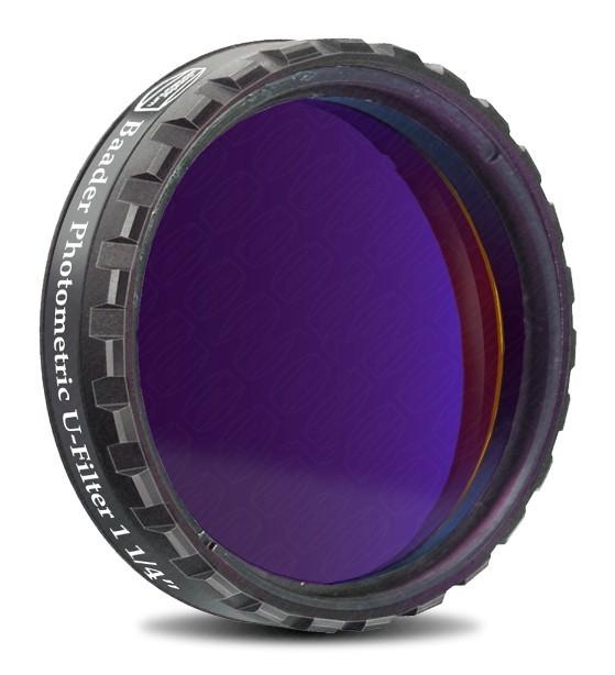 "Baader UBVRI Photometric U-Filter 1.25"" (4mm Glass)  with LPFC"