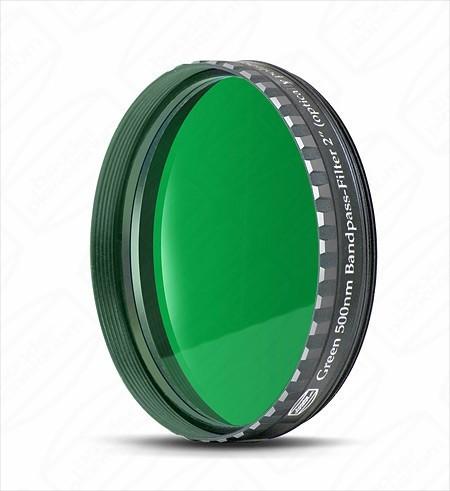 """Baader 2"""" Green Eyepiece filter 500nm Bandpass"""