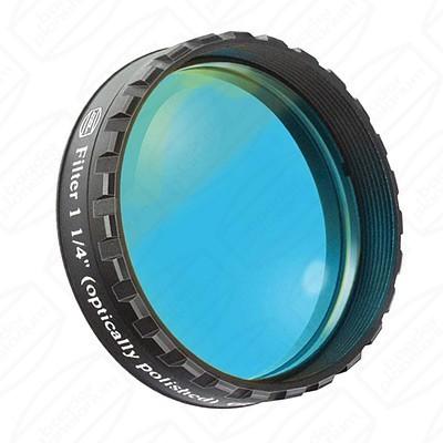 """Blue 1 1/4"""" Eyepiece filter 470nm Bandpass"""