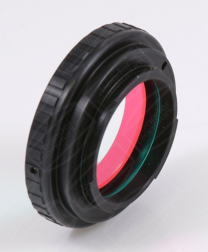 "Canon-EOS Baader DSLR-T-Ring T-2 (M68) with 2"" IR Filter"