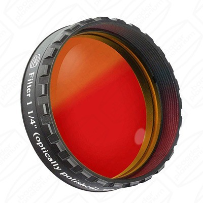 "Red 1 1/4"" Eyepiece filter 610nm Longpass"