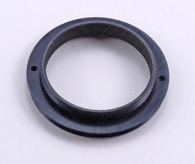 "Adapter 2"" (male) / T-2 (male) with internal 2"" (M48) filter thread"