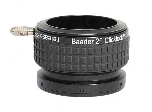 "Baader 2"" ClickLock Eyepiece Clamp with T-thread (M42x0.75) Connection"