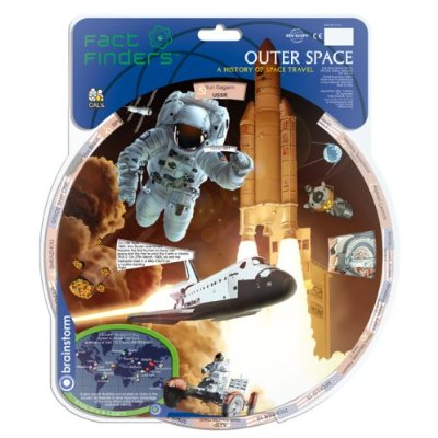 Fact Finders Outer Space Educational Fact Wheel