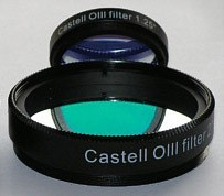 Castell OIII Deepsky Filter for 1.25-Inch Eyepieces