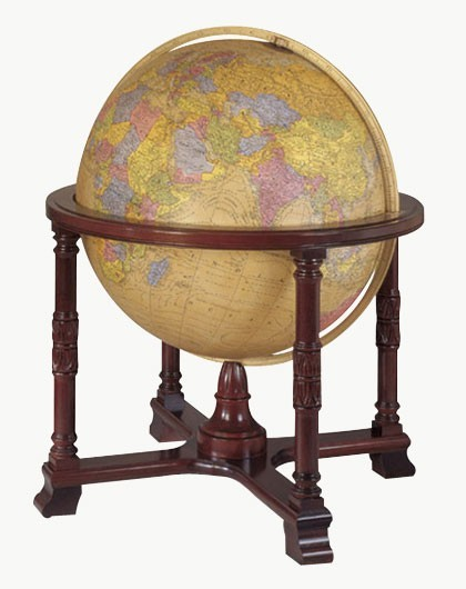 "32"" The Diplomat Antique Style Ultimate Floorstanding Globe"