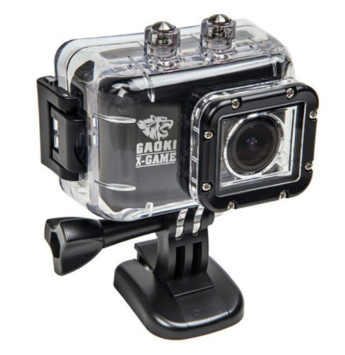 Gaoki X-Game v4 1080p 12MPixel Waterproof Action Video Camera