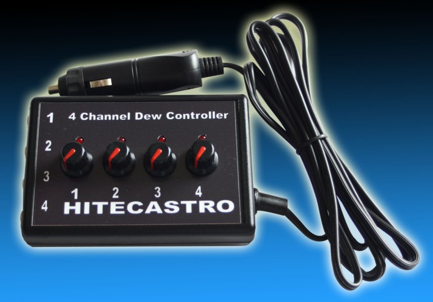 HitecAstro 4 Channel 4 Port Dew Controller