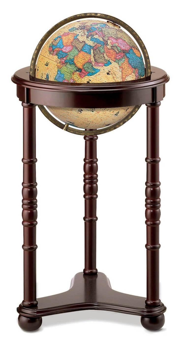 """12"""" Lancaster Illuminated Floorstanding Globe"""