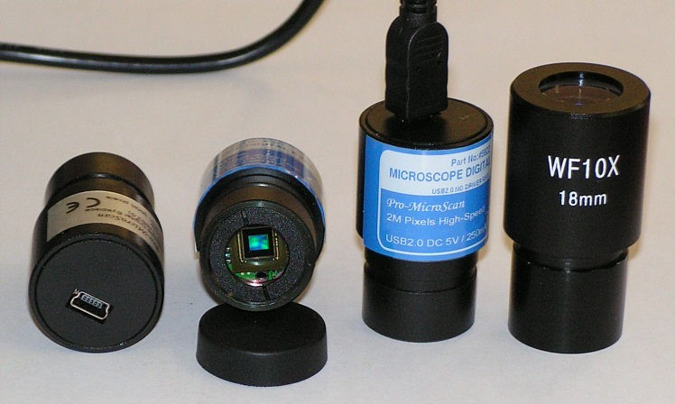 MicroQ 1.3Mpixel Colour CMOS Digital Microscope Eyepiece - CLEARANCE