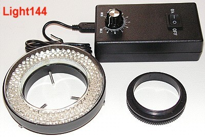 BTC LED Ring Illumination for STM Stereo Microscopes (144 LEDs)