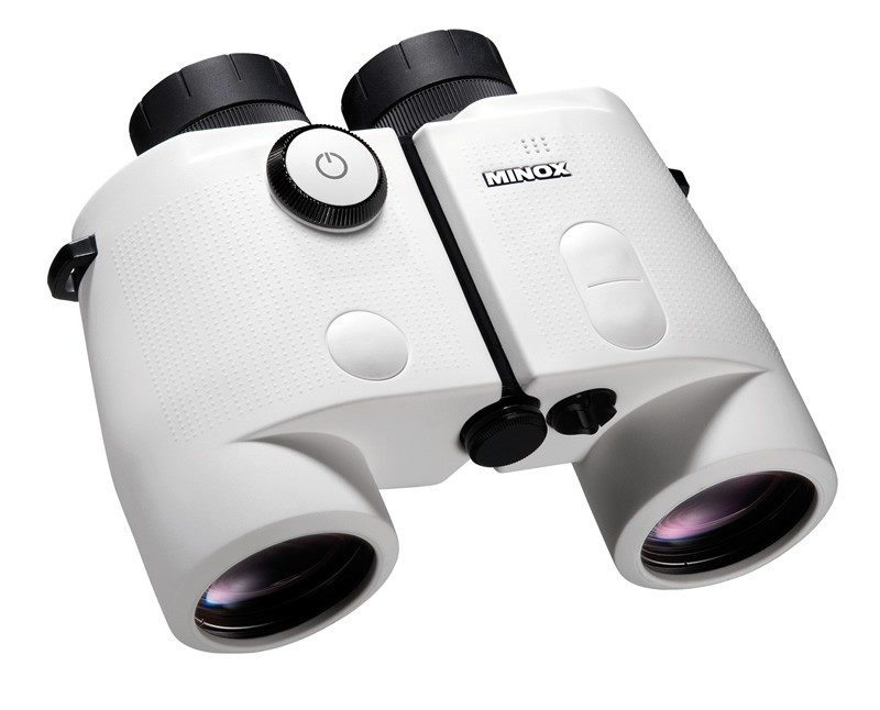 Minox BN 7x50 DCM Nautical Marine Binocular with Digital Multifunction Display WHITE