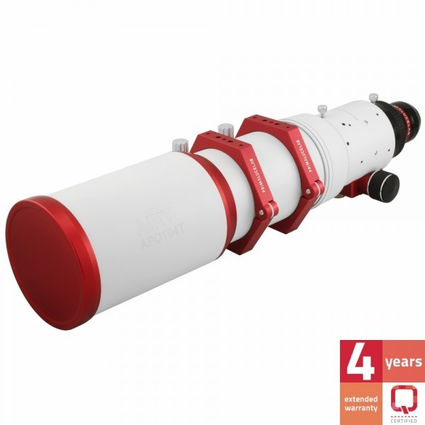 Primaluce Lab AIRY APO104T 104mm f/6.25 Apochromatic Quintuplet Refractor Telescope with Field Flattener
