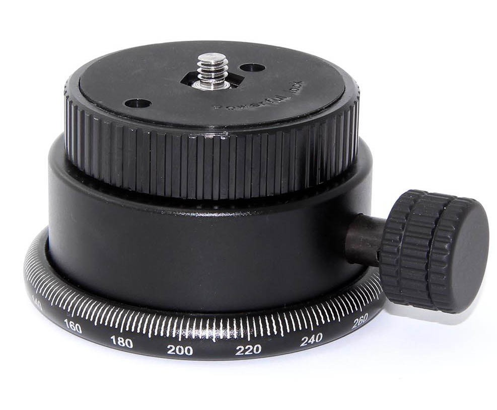 TS Optics Panorama Head and 360° Rotary Plate - load capacity 20 kg