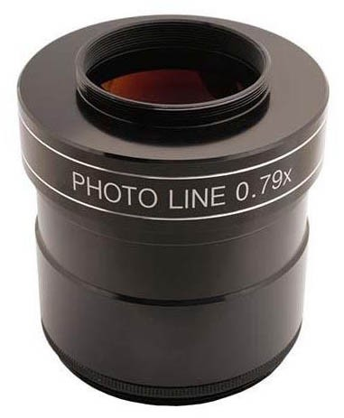 "TS-Optics PHOTOLINE 3"" 0.79X  4-element Reducer and Field Flattener / Corrector for Astrophotography"