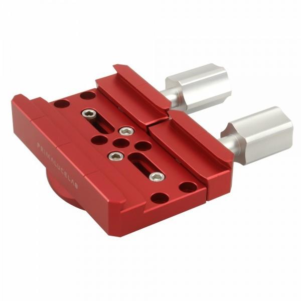 Primaluce Lab PLUS Premium Dovetail Clamp Vixen / Losmandy Compatible - LARGE Clamp for EQ6 Mount