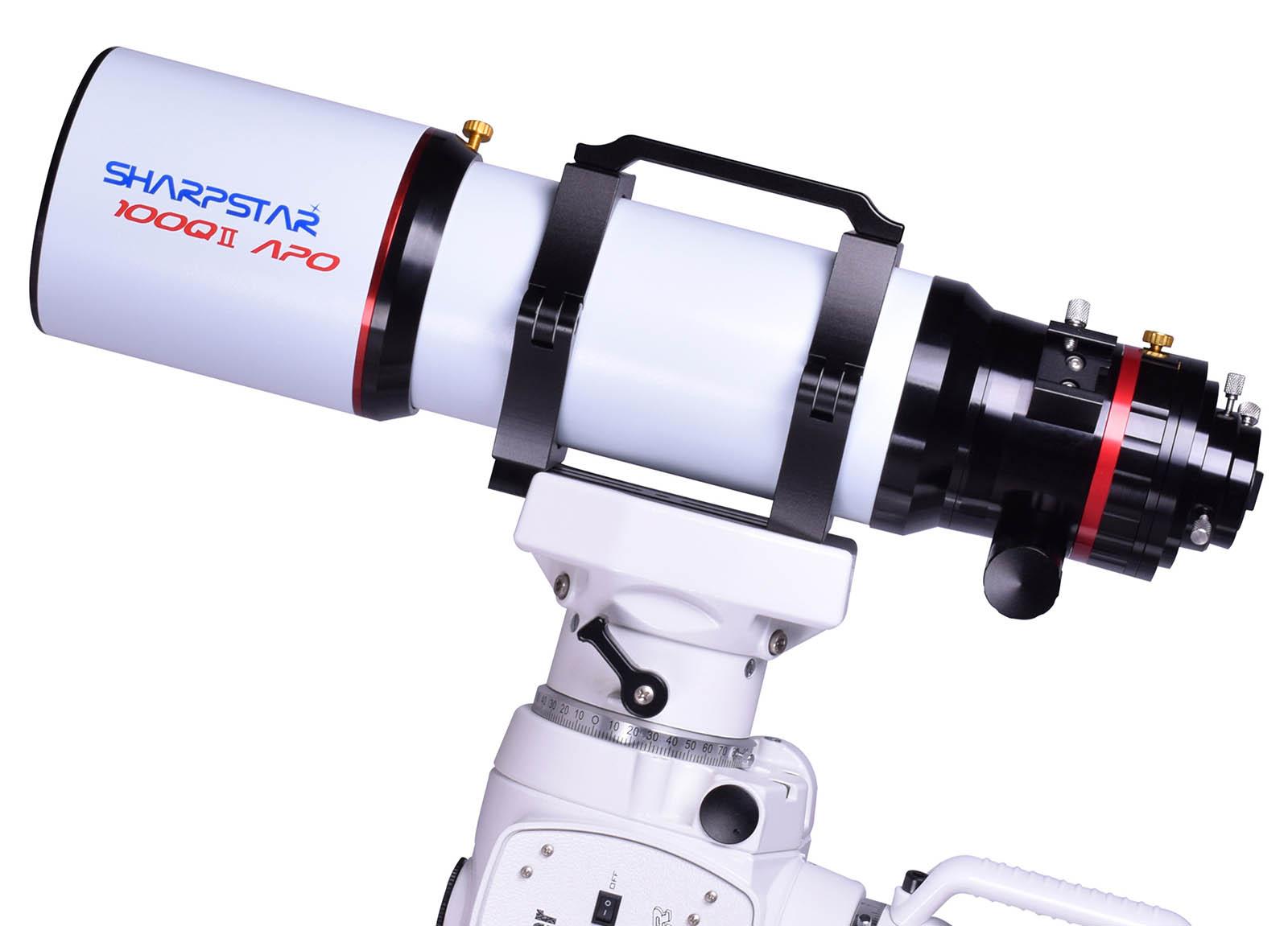 SharpStar 100QII 100mm f/5.8 Quadruplet Apochromatic Refractor Telescope - Mark II