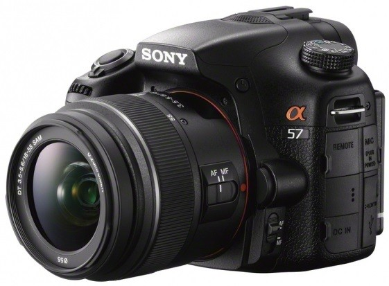 Sony Alpha A57 with 18-55mm Lens