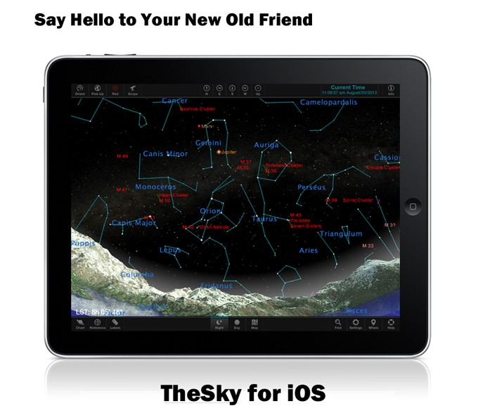 TheSky for iOS from Software Bisque