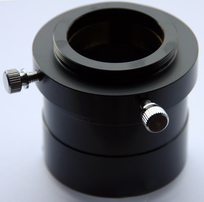 """Adapter from 2"""" to T2 with 1.25"""" Barrell& 2"""" Inner Filter Thread"""