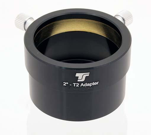 "TS 2"" Eyepiece Holder with Female T-thread - Adaptor from T2 thread to 2"" female"