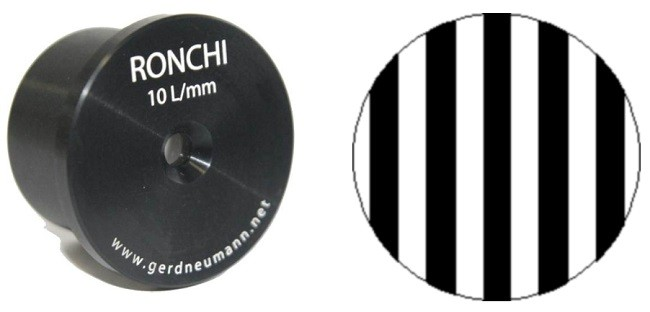 Ronchi Eyepiece 10L/mm for Visual Testing