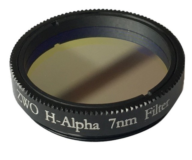 "ZWO 1.25"" H-alpha 7nm Narrowband Filter"