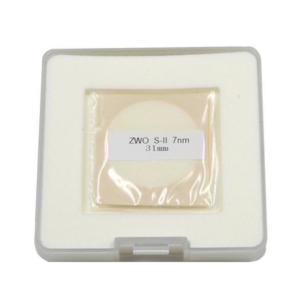 ZWO 31mm SII 7nm Narrowband Filter - UNMOUNTED - Mark II- BLACK FRIDAY