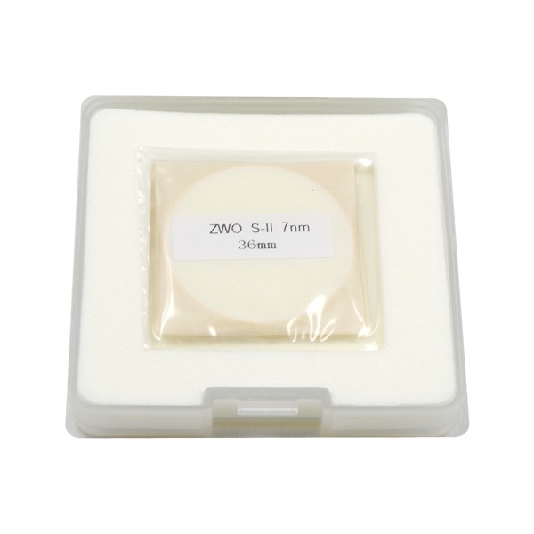 ZWO 36mm SII 7nm Narrowband Filter - UNMOUNTED