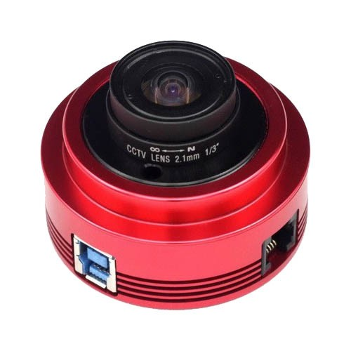 "ZWO ASI120MC-S USB3.0 Colour 1/3"" CMOS Camera with Autoguider Port - SUMMER HOLIDAY OFFER"